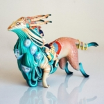 Unreal. Art Toy by Lauren Tsai x Medicom Toy x 3DRetro