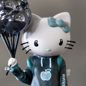BAIT Exclusive Hello Kitty Feeling Blue by Candie Bolton and Kidrobot