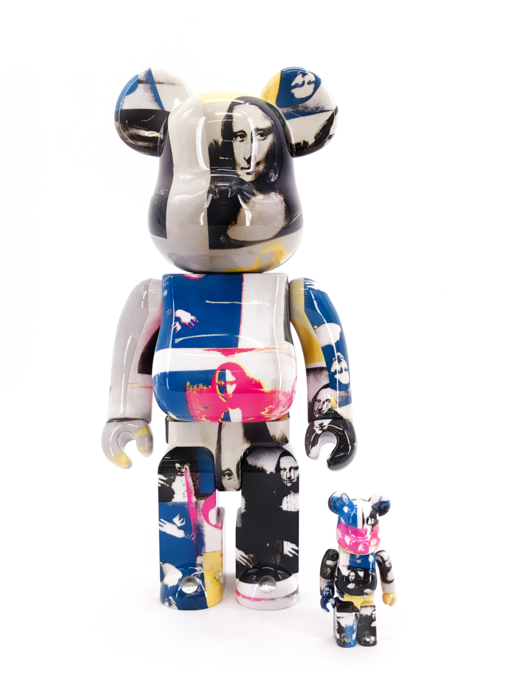 DesignerCon Exclusive Andy Warhol Mona Lisa Colored Bearbrick