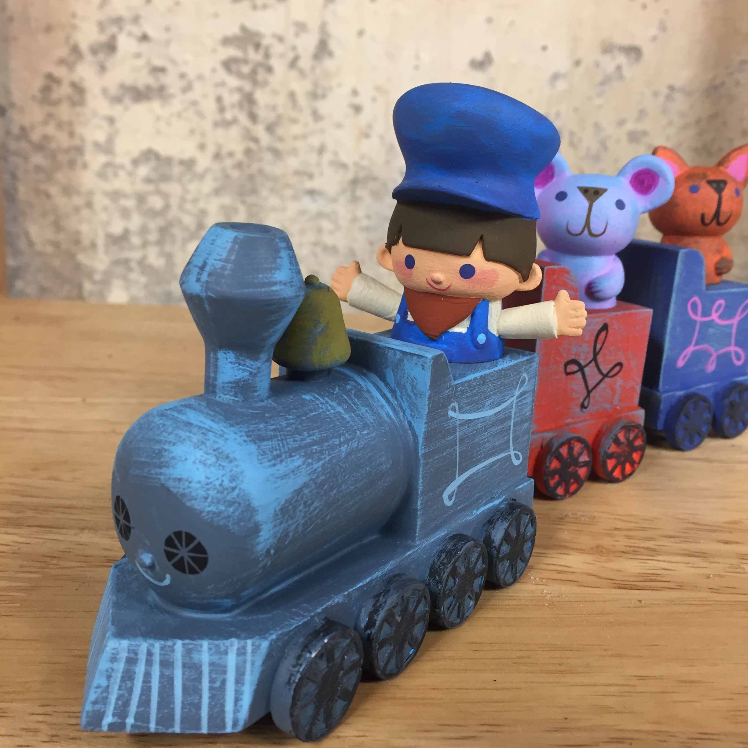 Locomotion Set Resin Art Toy by Itokin Park, Amanda Visell, Michelle Valigura