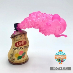 Angelonce x JFO Charlie PSPPF Resin Art Toy